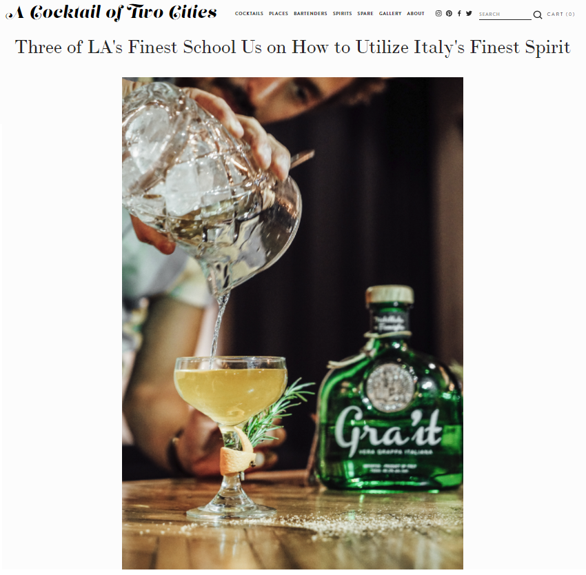 cocktail article grait