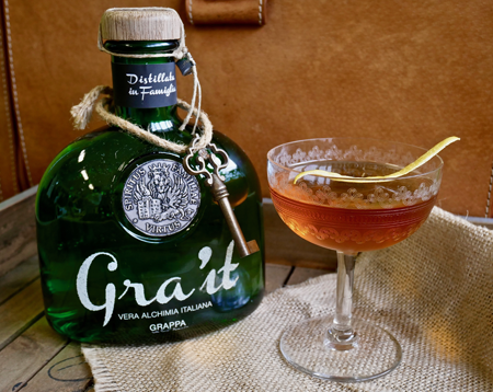esimio cocktail gra'it grappa