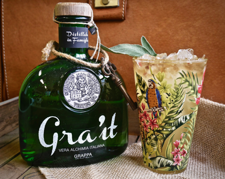 spirito gra'it grappa cocktail